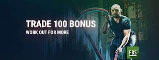 بونص فوركس جديد 2019 بدون ايداع 100 دولار FBS