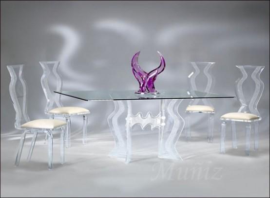 decor Decoração com mesa de vidro 2013