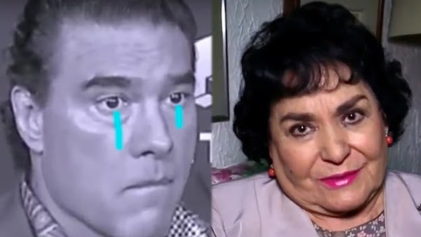"""No se vale Eduardo Yáñez… por eso ya nadie quiere trabajar contigo"": Carmen Salinas"
