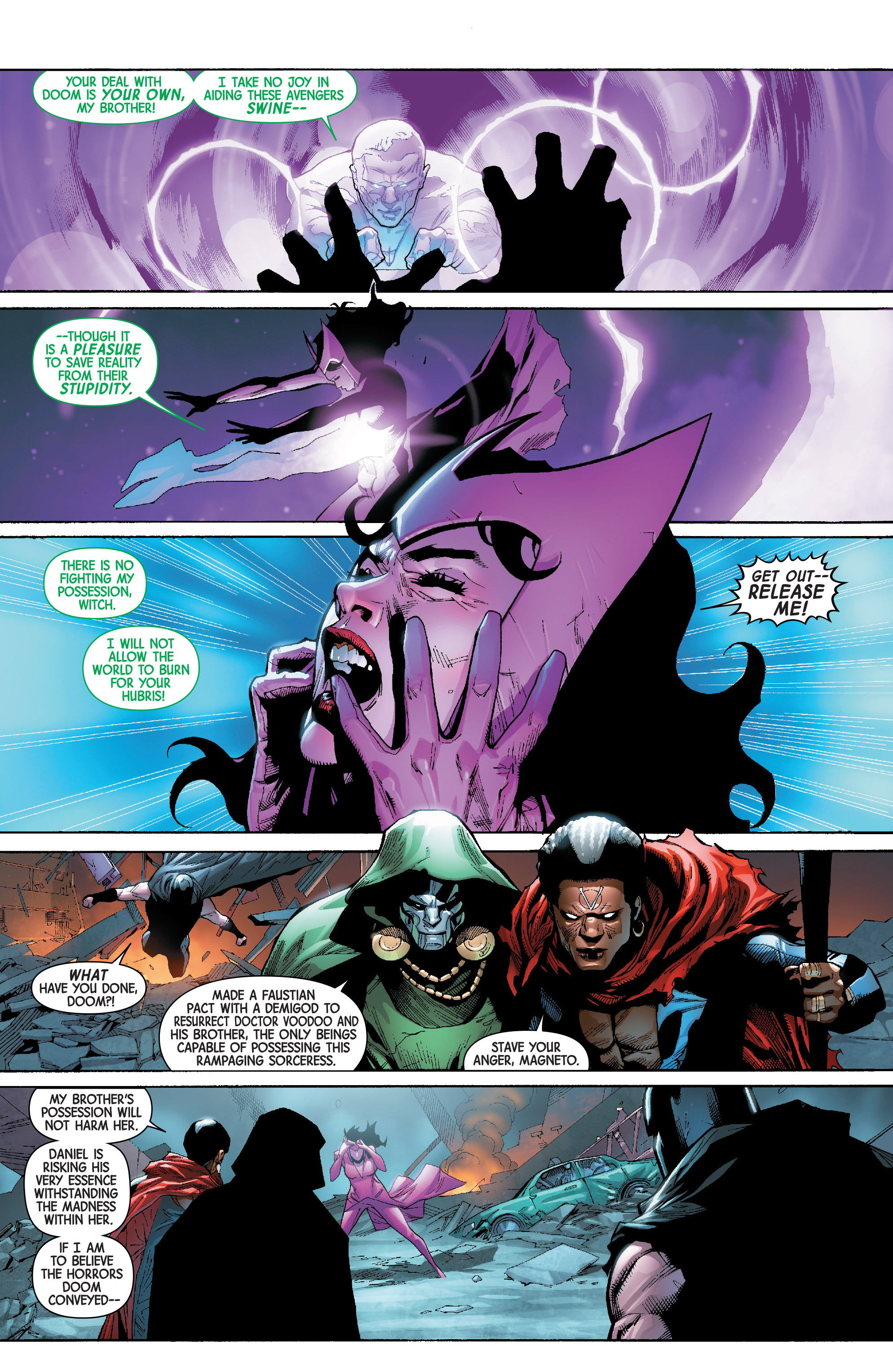 Read online Avengers & X-Men: AXIS comic -  Issue #8 - 21