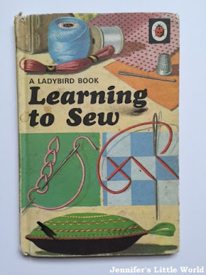 Ladybird book Hobbies - Learning to Sew