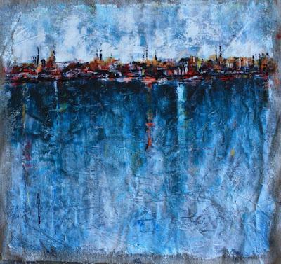 Gwenaelle Péron : Avant la nuit peintre contemporain