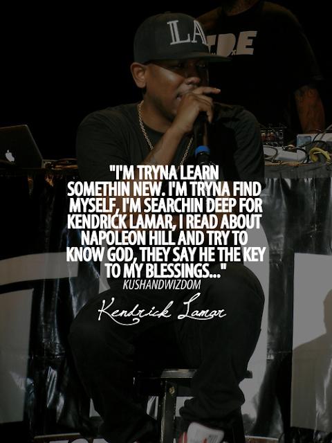 I Kendrick Lamar Quotes. QuotesGram