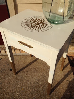 http://clearcutcrystal.blogspot.com/2015/08/vintage-nautical-sewing-table-update.html