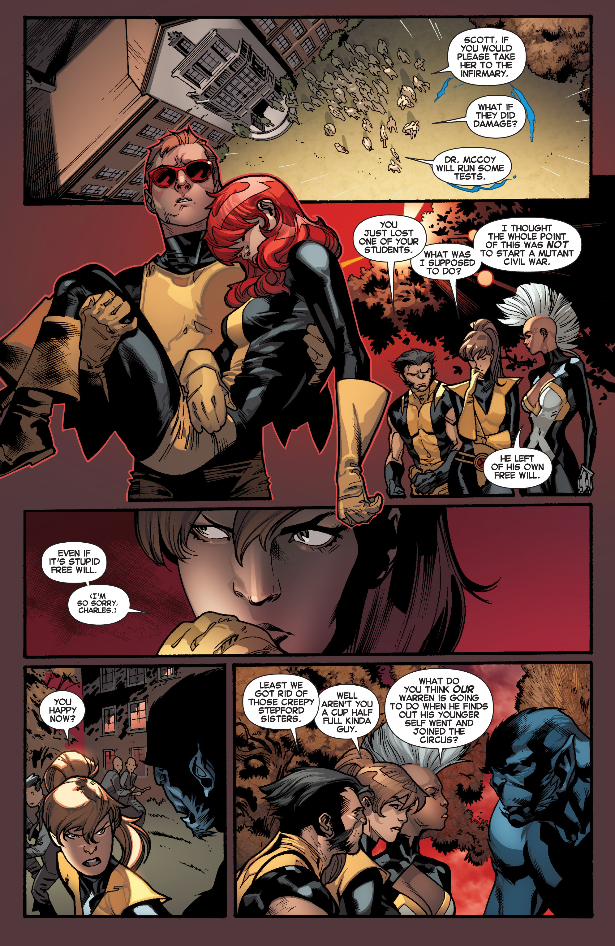 Read online All-New X-Men (2013) comic -  Issue # _Special - Out Of Their Depth - 15