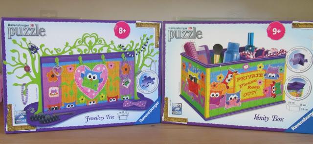 Owl 3D puzzles