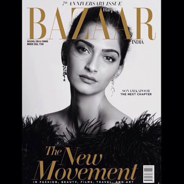 Sonaam Kapoor for Harpers Bazaar India