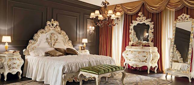 20 Desain tempat tidur ukir jepara super mewah