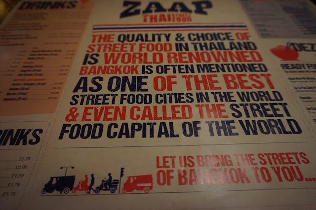 Zaap Thai Street food Leeds