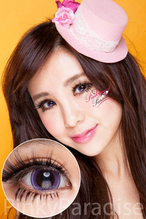 Princess Pinky Eclipse Violet Circle Lenses | PinkyParadise