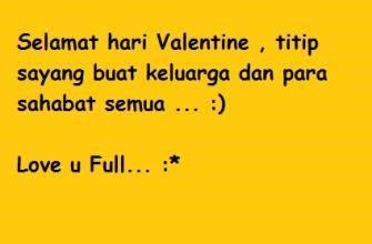 kata kata cinta hari valentine