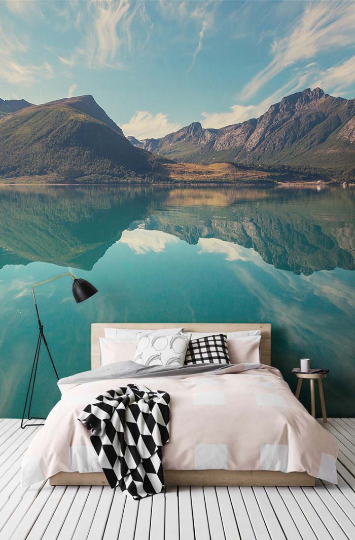 Sleep In A Fjord | Wall Murals Larger Than Life