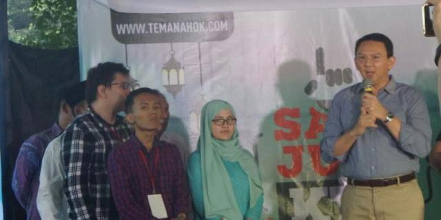 """Ahok Pilih Gagal Jadi Gubernur daripada Harus Tinggalkan """"Teman Ahok"""""""