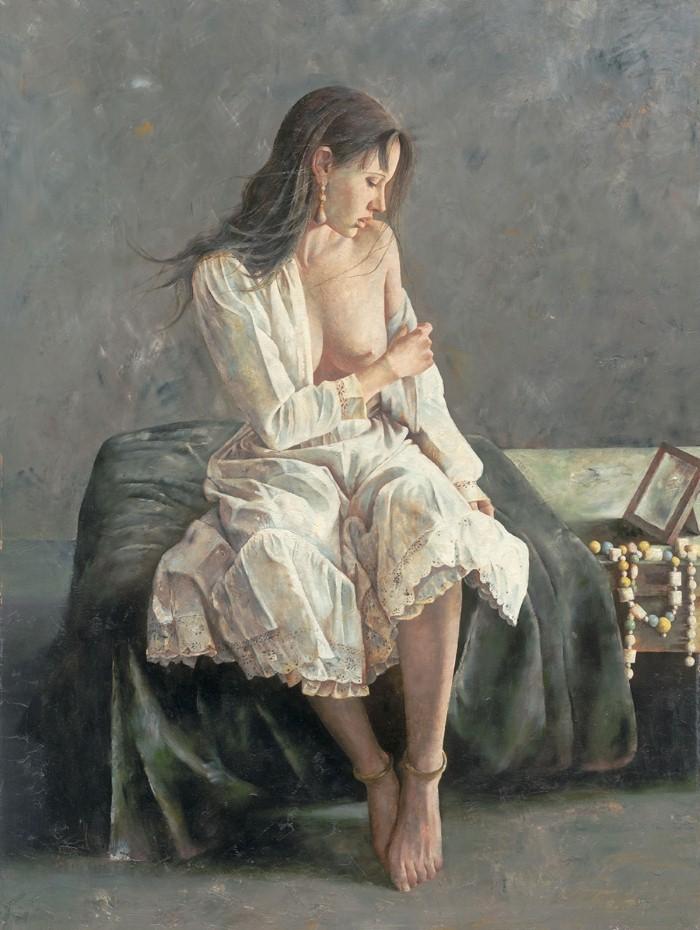 Академическая живопись. Lu JianJun 15