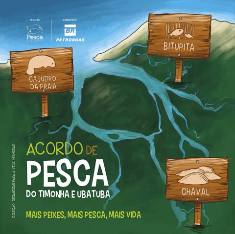 Pesca no Rio Timonha e Ubatuba é regulamentado por ICMBio