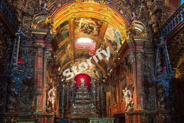7. Mosteiro de Sao Bento, Rio de Janeiro