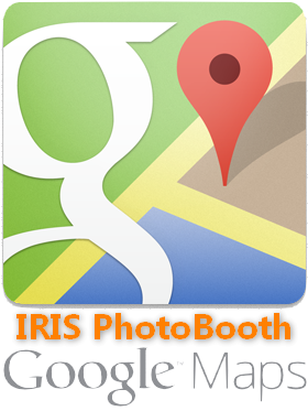 IRIS PhotoBooth on Google Map