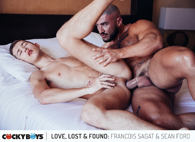 Cockyboys - Love, Lost & Found - Part 4: Francois Sagat & Sean Ford