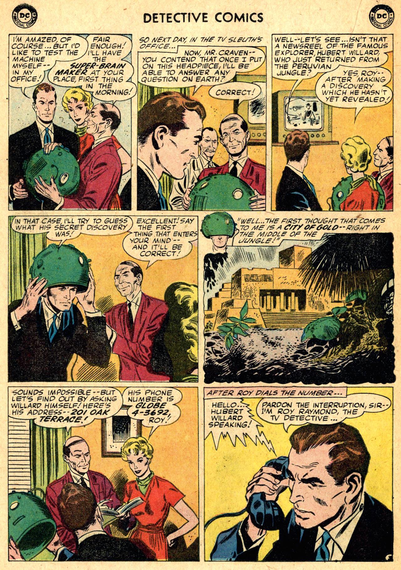 Read online Detective Comics (1937) comic -  Issue #275 - 20