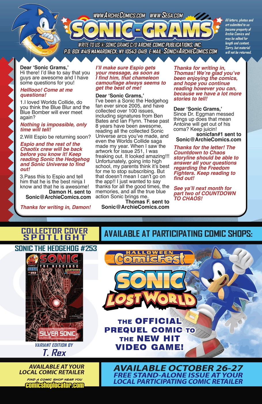 Read online Sonic The Hedgehog comic -  Issue #253 - 24