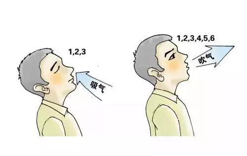 養肺先學會呼吸,初春這三招呼吸吐納法可幫你養肺防病!(深呼吸、腹式呼吸、縮唇呼吸)