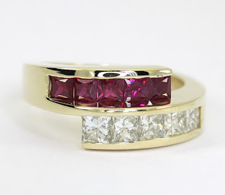 http://www.ebay.com/itm/Diamond-ruby-ring-14K-yellow-gold-crossover-VVS-princess-brilliant-2-25CT-sz7-25-/371674337132?hash=item5689844f6c