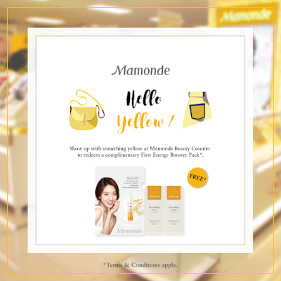 Mamonde Malaysia First Energy Booster Pack Free Sample Giveaway