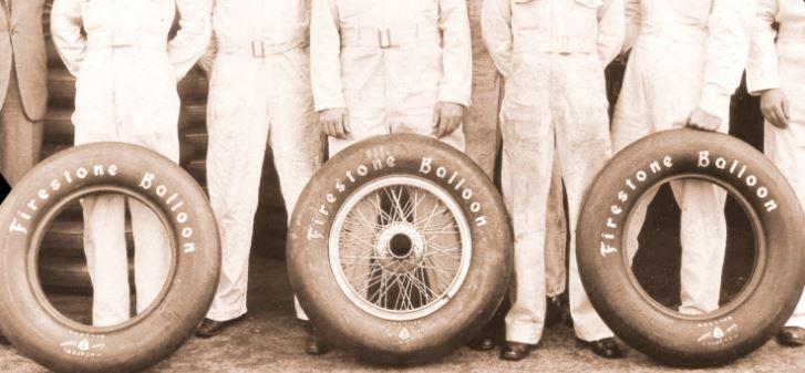 club5a image d 39 archive l 39 histoire du pneu dans le sport automobile. Black Bedroom Furniture Sets. Home Design Ideas