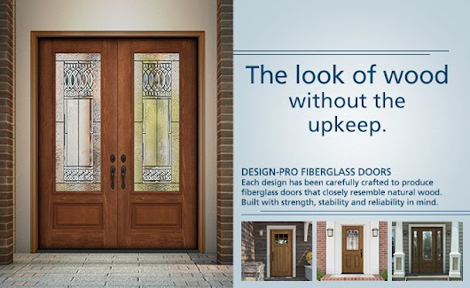 Pros and Cons of Fiberglass Entry Doors by the Window Professionals.