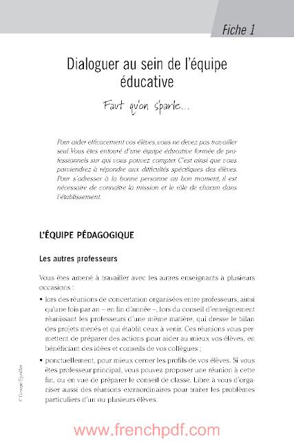 Aider les élèves en difficulté par Sandrine Maury PDF Gratuit