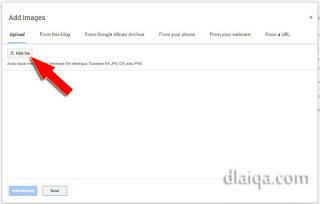 klik 'Pilih file'