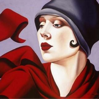 Catherine Abel. Картины маслом в стиле Арт-Деко