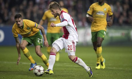 Prediksi Skor Ajax Amsterdam vs Celtic 18 September 2015, Europa League