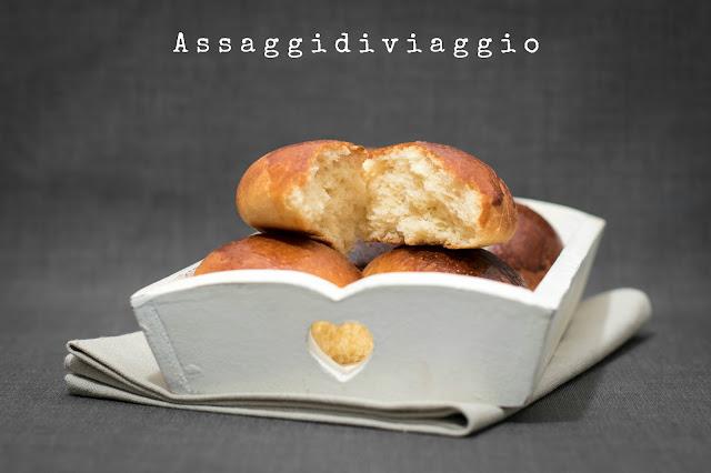 Brioches che non si impastano - Not knead brioches