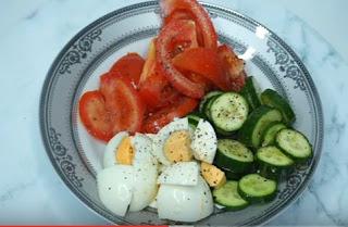 Göbek Yağlarından Kurtulmak kahvaltı önerisi