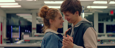 Ansel Elgort e Lily James