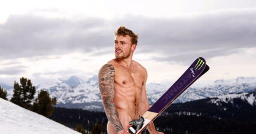 snowboarding-in-naked