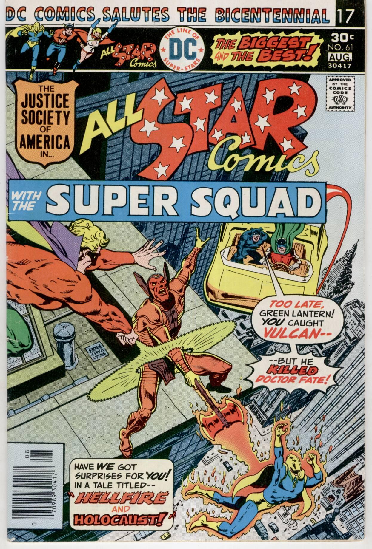 Read online All-Star Comics comic -  Issue #61 - 1