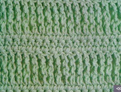 Patrón 1003 Punto Tupido a Crochet