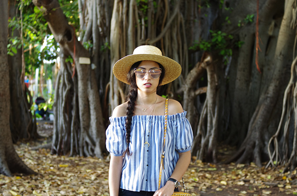 Elizabeth l Hawaii casual summer outfit #1 l Asos Zara Chanel L'Usine à lunettes l THEDEETSONE l http://thedeetsone.blogspot.fr
