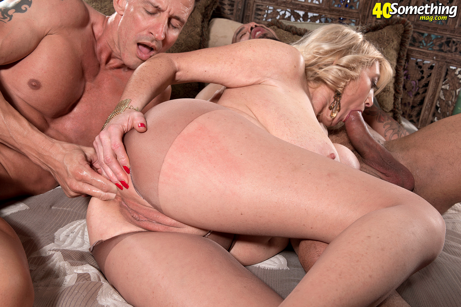 Blonde milf laney