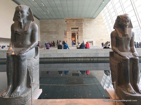 Temple of Dendur at Metropolitan Museum of Art in NYC