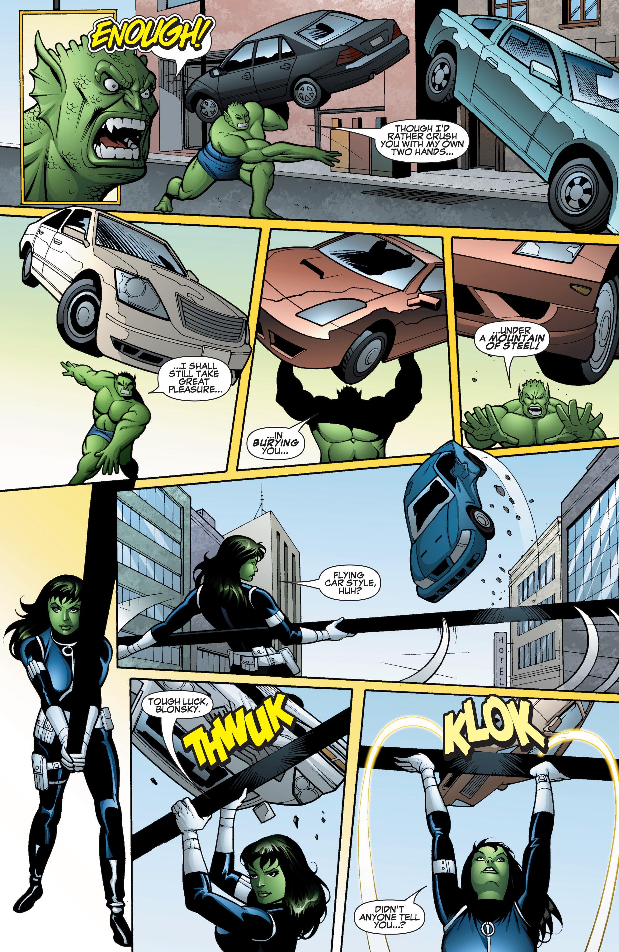 Read online She-Hulk (2005) comic -  Issue #15 - 17