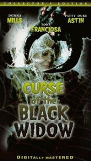 la maldicion de la viuda negra (1977) Terror con Anthony Franciosa