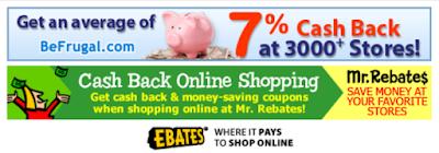 Cash back Banner Ads