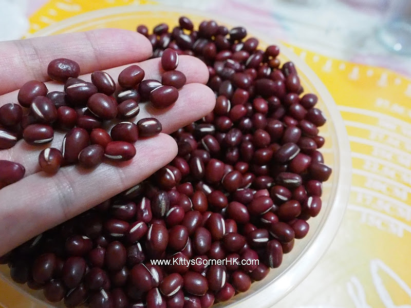 Cooked Red Bean DIY recipe 熟紅豆自家食譜