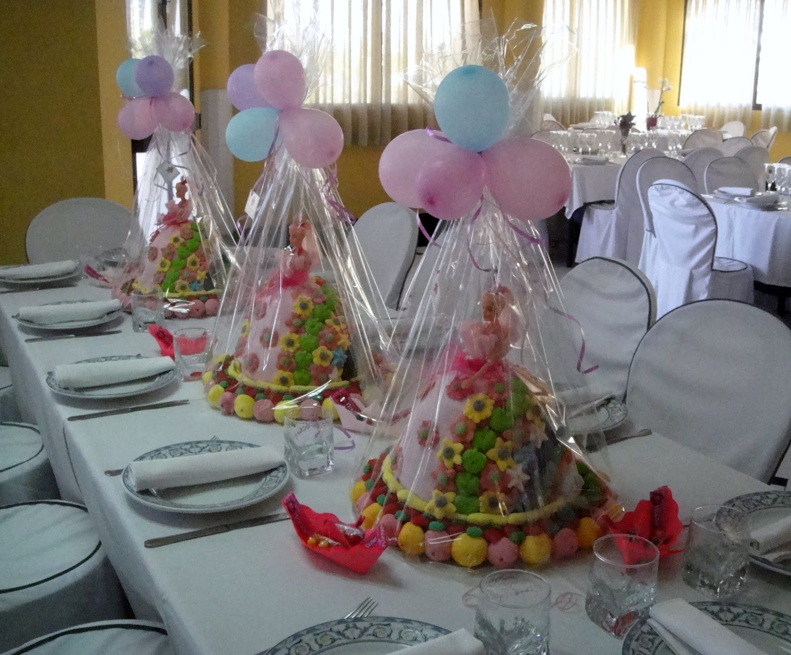 Decorar Con Chuches Una Comunion Decoracion Mesa Chuches Comunion