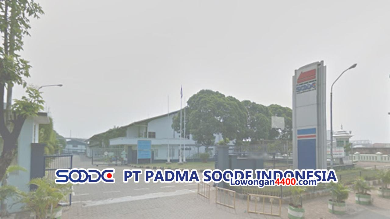 Lowongan Kerja PT. Padma Soode Indonesia Narogong