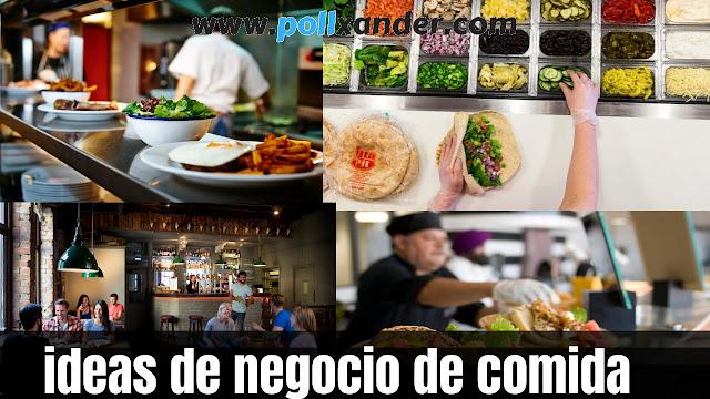 ideas de negocio de comida