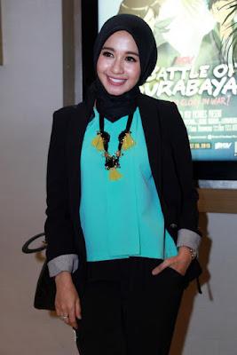 Artis cantik Hijab laudya cynthia bella tidak jadi menikah